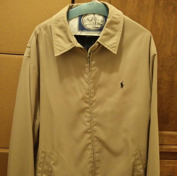 Polo By Ralph Lauren Jackets Coats Windbreaker Harrington Jacket Poshmark
